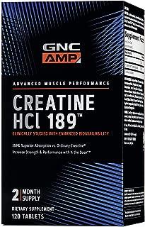 GNC AMP HCl 189, 120 Tablets