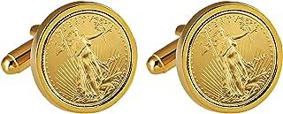 1967 coin cufflinks