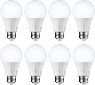 Sengled Smart LED Daylight A19 Bulb, Hub Required, 5000K 60W Equivalent, Compatible with Alexa, Google Assistant & SmartThings, 8 Pack