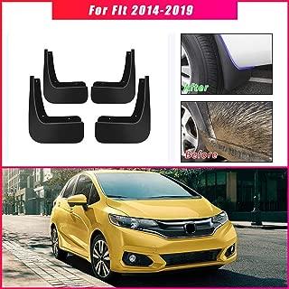 for Honda Jazz 2014-2019 Car Wheel Splash Guards Mud Flaps Premium Heavy Duty Mud Guards Rally Armor Fender 4pcs