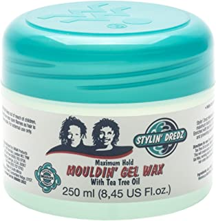 Stylin' Dredz Moulding Gel Wax with Tea Tree Oil Hair Care 250 ml Single