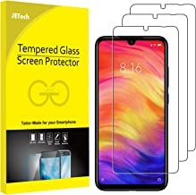 JETech Protector Pantalla Compatible Xiaomi Redmi Note 8, Note 7 y Note 7 Pro, Vidrio Templado, 3 Unidades