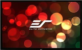 Elite Fixed Frame 4:3 Cinewhite Black Backed Ezframe Projector Screen, 135-Inch