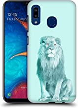 Official Mark Ashkenazi Lion Pastel Potraits Hard Back Case Compatible for Samsung Galaxy A20 / A30 (2019)