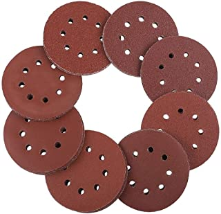 100x Sanding Discs D 150 mm GRIT p280 Orbital Sandpaper Discs Velcro