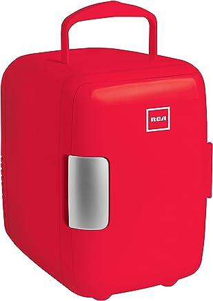RCA HOGRCARC4R Mini Refrigerador, 4 Lt, Rojo,