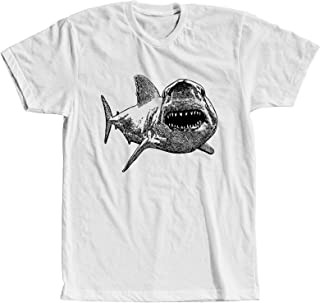 Great White Shark T-Shirt Shark Attack Tooth Attack Jaw Tee for Men Women