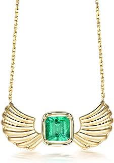 colombian emerald pendant