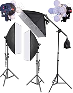 OCTOVA Simpex PRO HD 5 Soft Led Video Light Softbox Kit | 3 Point Lighting | Stand | for YouTube Shooting,Videography, Product Photography, Continuous Studio Lights,Key Fill and Back Light Chroma Kit