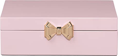 Ted Baker Lacquer Medium Pink Jewellery Box Jewellery