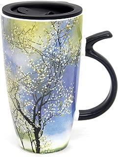 Best 20 oz ceramic coffee mug with lid Reviews