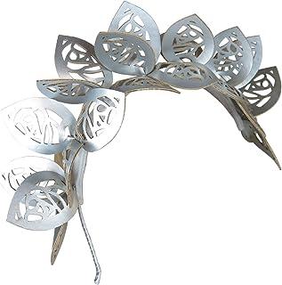 Morgan and Taylor Jasmine fascinator with laser cut petals