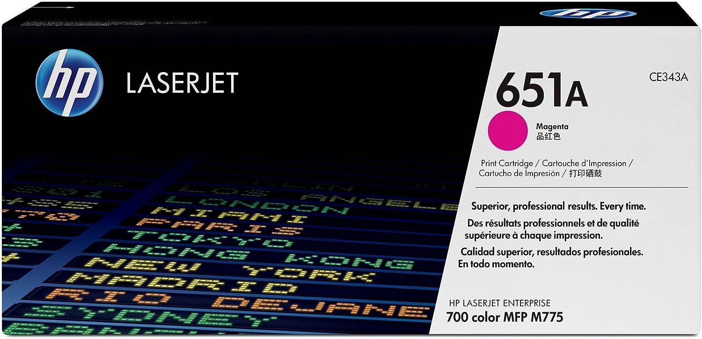 HP 651A | CE343A | Toner-Cartridge | Magenta