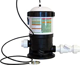 Automatic Chlorinator for Swimming Pools 20 Lbs Capacity with Fittings