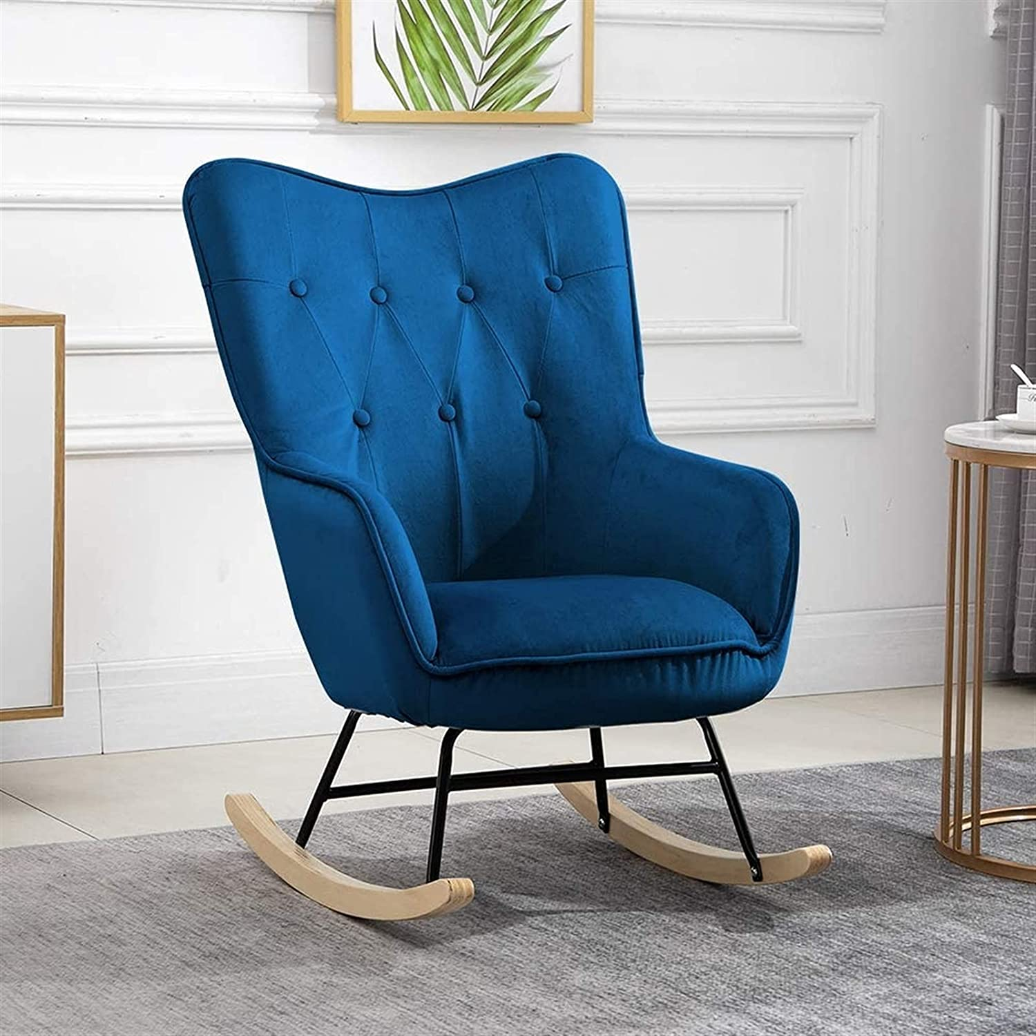 Relax Omaha Mall Rocking Opening large release sale Chair with Armchair Upholstered,Fireside Rocker