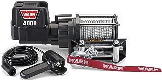 WARN 94000 4000 DC 12V Electric Winch-4,000 lbs. Capacity