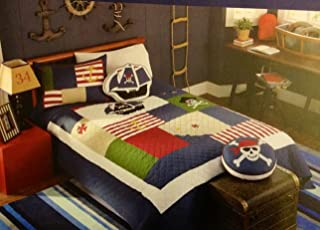 Boat House For Kids 1 Piece TWIN Quilt - Pirate