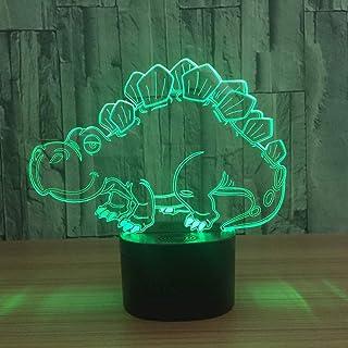 3D veilleuse de noël pour Enfants Cadeau 7 Changement de Couleur USB Lampe de Table LED Enfants Cadeau décor de Chambre