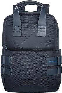 Mochila para portátil de 14 pulgadas o MacBook de 15,4 pulgadas, color azul oscuro
