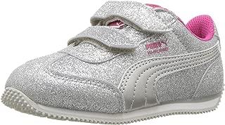 PUMA Unisex Kids' Whirlwind Glitz Velcro Sneaker