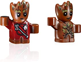 LEGO Super Heroes: Guardians of The Galaxy Minifigure Combo - Baby Groot (Red Jacket and Tree Vine) 76081