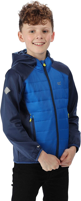 Regatta Kielder Iv Extol Stretch Water Repellent Lightweight Insulated Hybrid Jacket Chaquetas acolchadas Unisex ni/ños