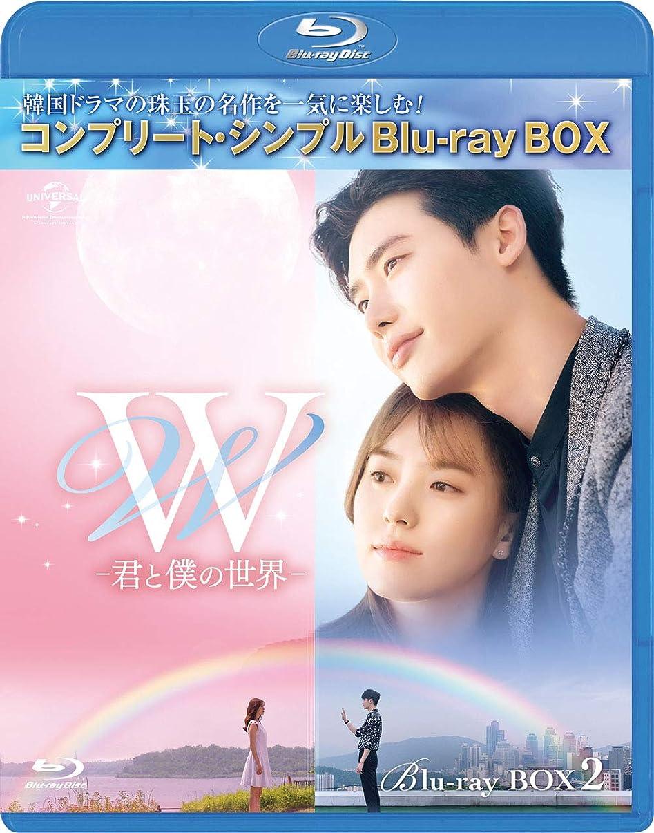 W -君と僕の世界- BD‐BOX2(コンプリート?シンプルBD‐BOX6,000円シリーズ)(期間限定生産) [Blu-ray]