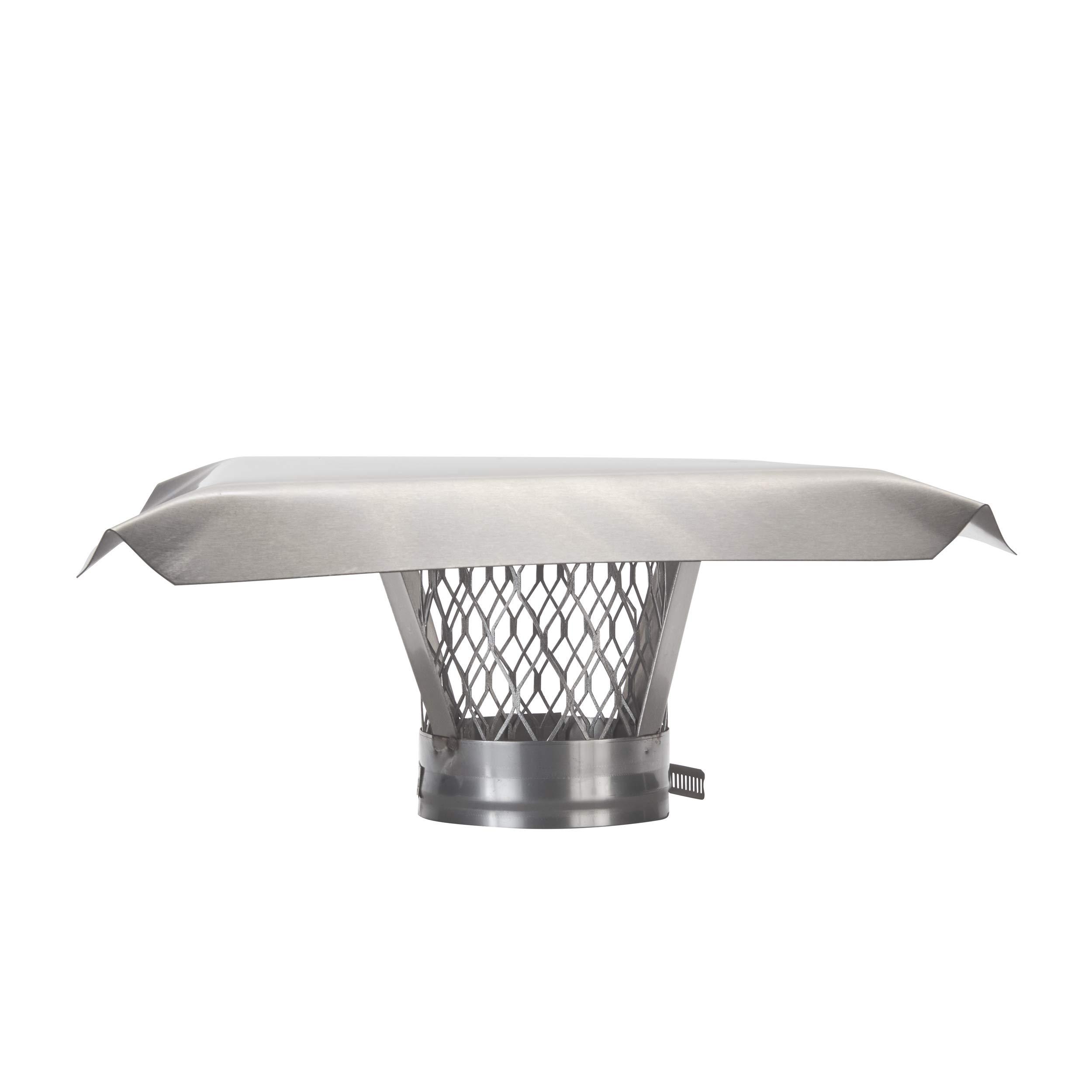 HY-C LC10 - Abrazadera redonda de acero inoxidable para chimenea, LC4: Amazon.es: Bricolaje y herramientas