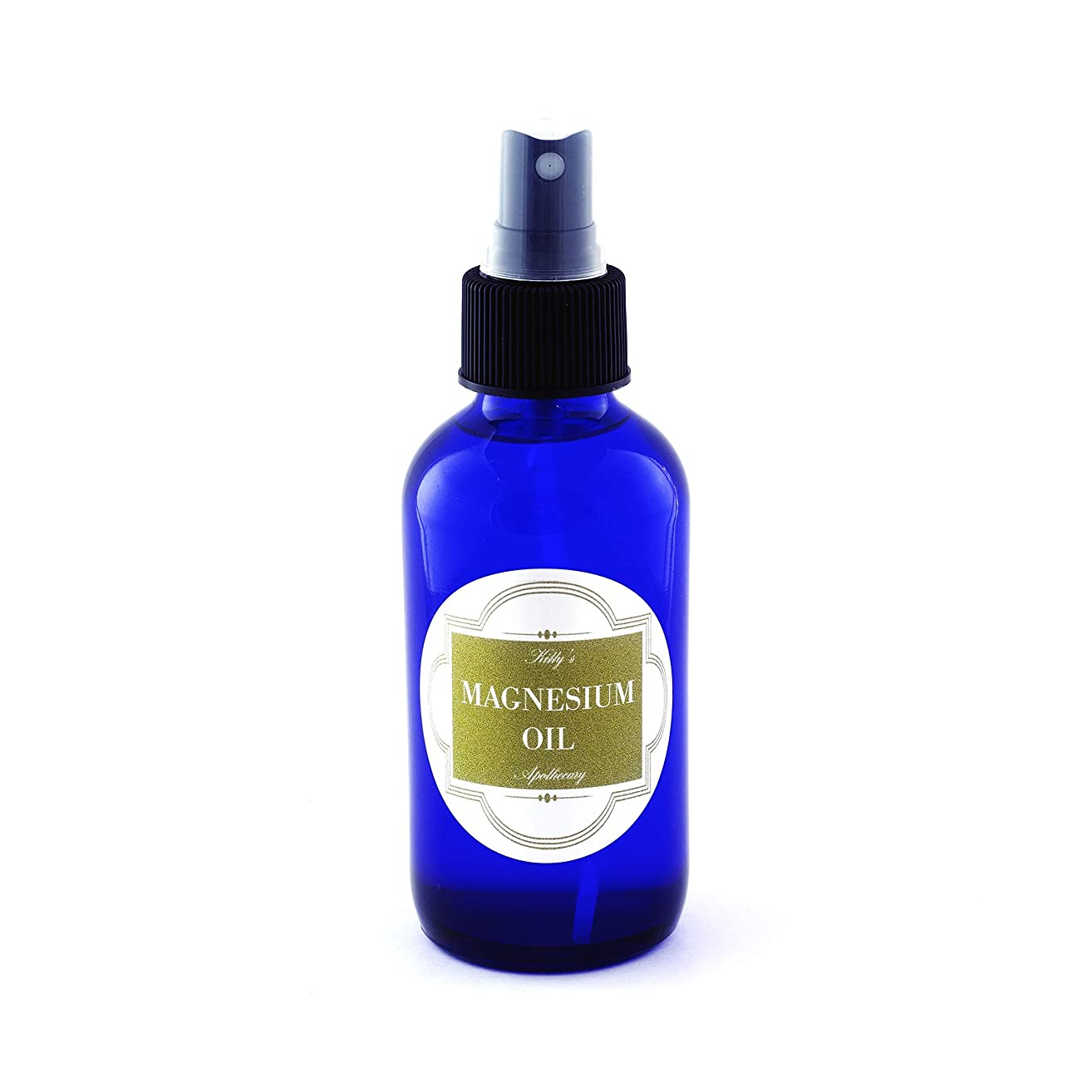 Rose Magnesium Oil Body Spray (4 FL Oz | 118 ML) Aromatherapy Body Spray, Natural Deodorant Spray, Stop Muscle Cramps, Soothe Sore Muscles, Floral Body Spray with Magnesium Chloride