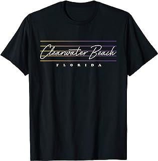 Clearwater Beach Shirt Nostalgic Retro Style Florida T-Shirt