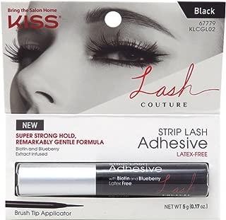 Best kiss lash couture adhesive strip lash black Reviews