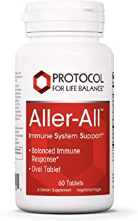 Protocol For Life Balance - Aller-All Immune Seasonal Support - Vitamins, Minerals and Botanicals to Support Immune System...