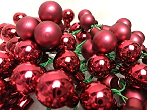 Advent Christmas decorations Xmas Boltze Christmas Tree Topper made of real glass 25 cm Rose Winter Christmas tree decoration