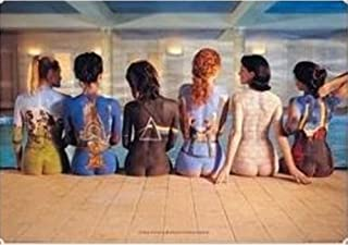Pink Floyd Back Catalogue 3D Poster Wall Art Decor Print | 11.8 x 15.7 | Lenticular Posters & Pictures | Memorabilia Gifts for Guys & Girls Bedroom | Darkside of The Moon Vinyl Records & Rock Art