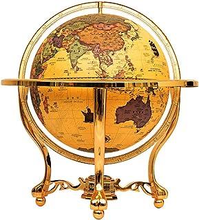 FEE-ZC Explore The World World Globe World Map Rotating Globe Educational Rotating Tabletop Globe for Teaching Home Office...