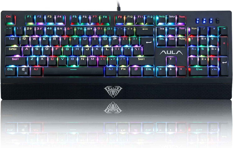 AULA S2018 RGB Mechanical Gaming Keyboard
