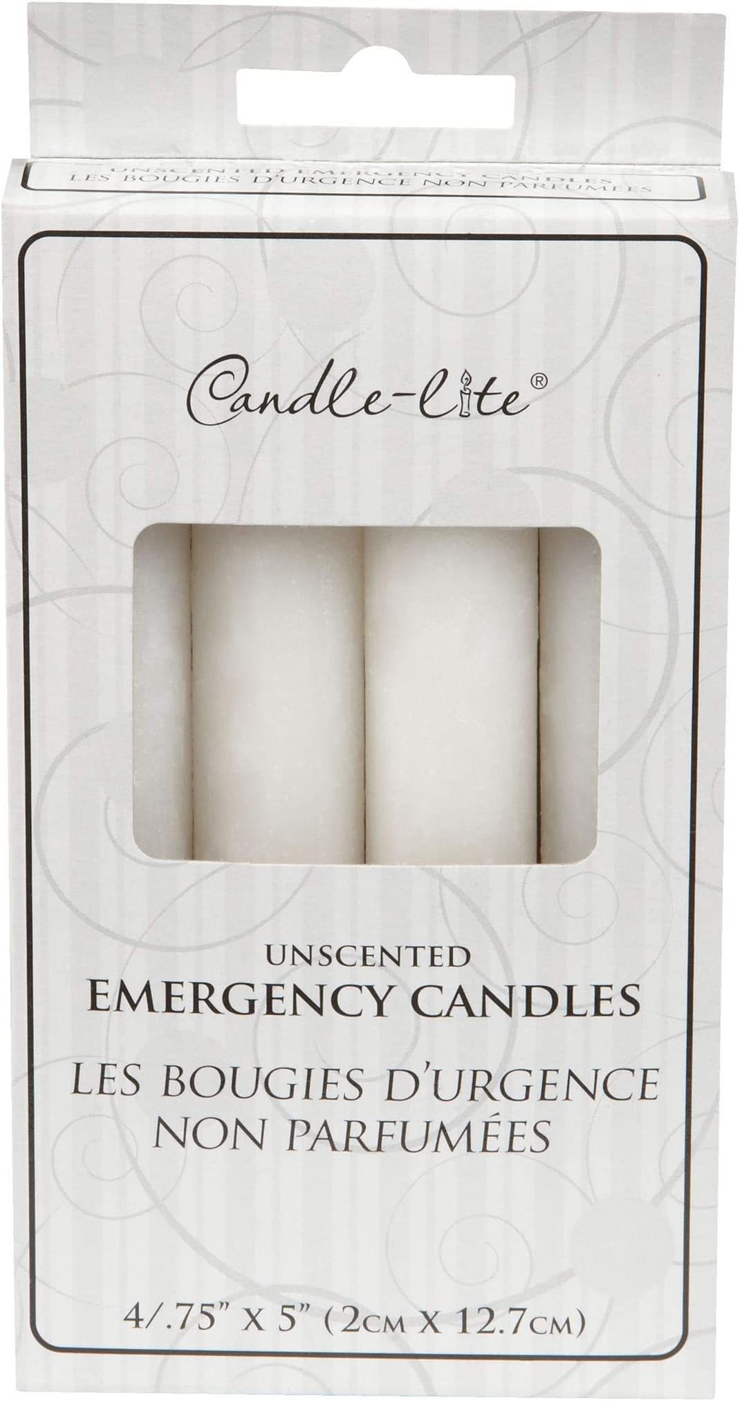 Set of 12 Long-Burn Emergency Candles