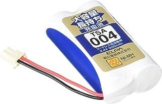 ELPA エルパ 子機用 大容量長持ち充電池 TSA-004