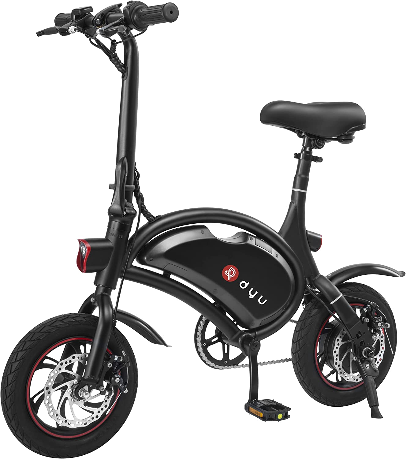 DYU Folding Some reservation Electric Bike Ebike Limited time for free shipping Commuter Bicycle D2F w