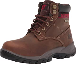 "Caterpillar Women's Dryverse 6"" Waterproof Work Boot Construction"