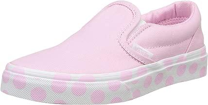 Vans Youth Classic Slip on(VA32QINFC) (Polka DOT) Pink
