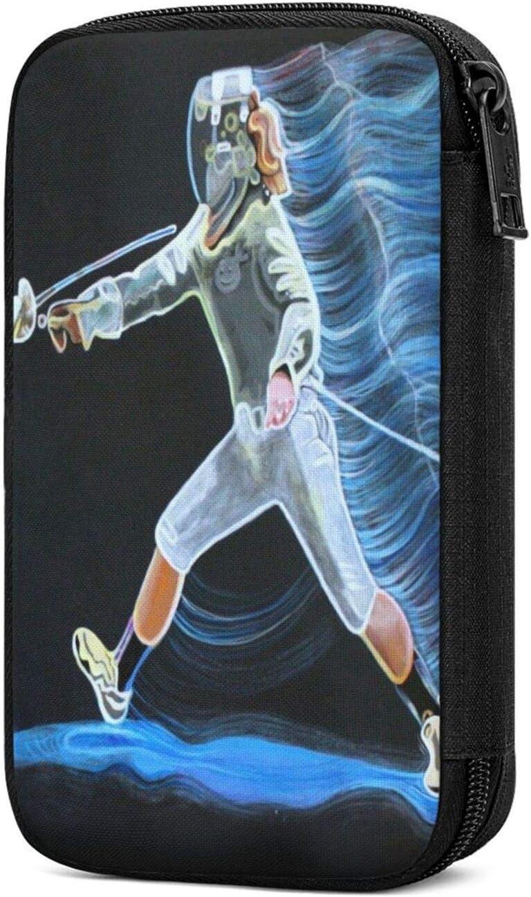 Baliboon Fencing Popular standard Action Figure Blue Storage Gifts Lightweight Por Bags