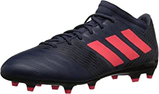 adidas  Women's Nemeziz 17.3 FG W Soccer Shoe, Trace Blue/Red Zest/Core Black, 10 M US