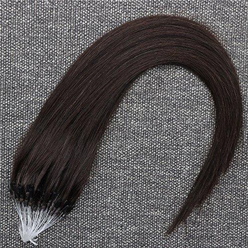 Micro Loop Extensions De Cheveux Humains 1g/s,50s,50g Soyeux Cheveux Raides Pré-Collé Micro Ring Extensions De Cheveux Humains Pour Beauté 18\