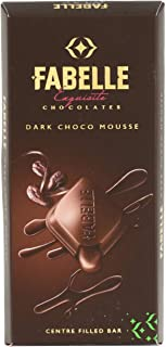 Fabelle Dark Choco Mousse Centre Filled Bar, 135g Pack of 3