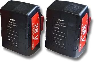 Power Batterie 28 V 3000 mAh pour Milwaukee hd28 JSB Batterie-Scie sauteuse