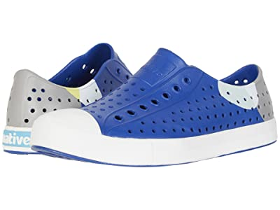 Native Shoes Jefferson Block (Marine Blue/Shell White/Dot Block) Athletic Shoes