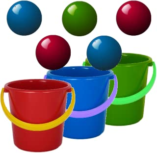 Bucket Ball - fun, free, catch ball puzzle game for kids, preschooler and toddler