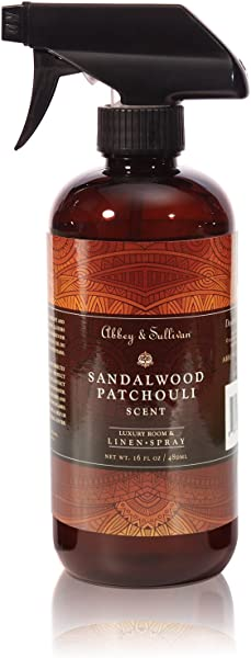Abbey Sullivan Linen Spray Sandalwood Patchouli 16 Oz