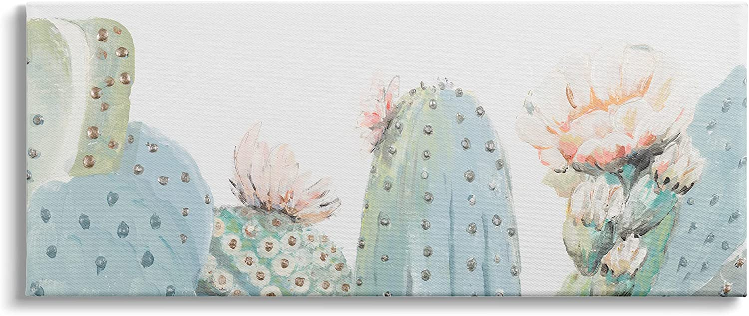 Sales Stupell Industries Soft Green Cactus Close Up Blooming Bombing free shipping Pink Flow